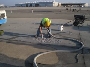 lemoore runway epoxy grout repair